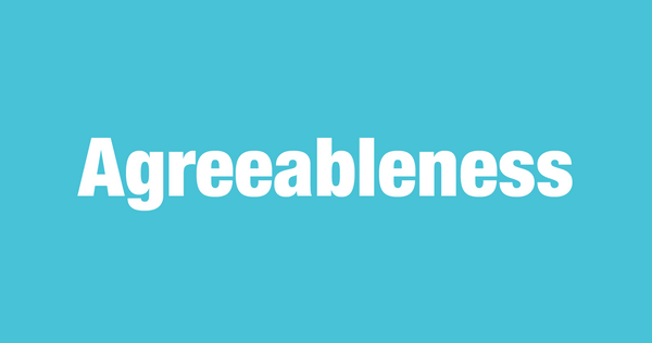 What is Agreeableness?
